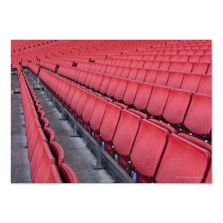 Empty Seats in Stadium Card