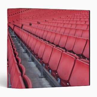 Empty Seats in Stadium Vinyl Binders