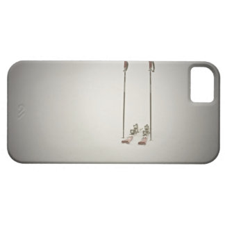 Empty Skis and Poles iPhone 5 Cover
