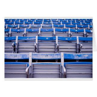 Empty Stadium Card