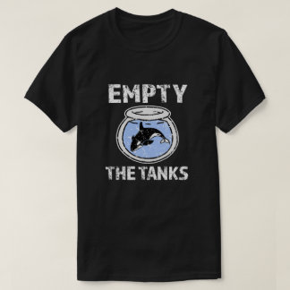 Empty the Tanks - Free the Orca Whales Shirt