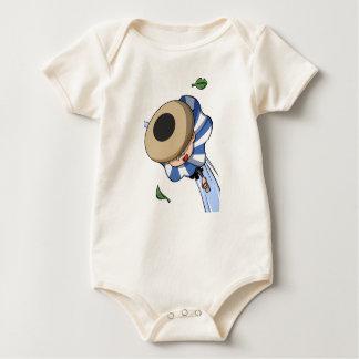 Empty tsu Kazetarou English story Mount Akagi Baby Bodysuit