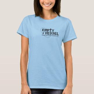 Empty Vessel Logo Womans Baby Doll T-Shirt