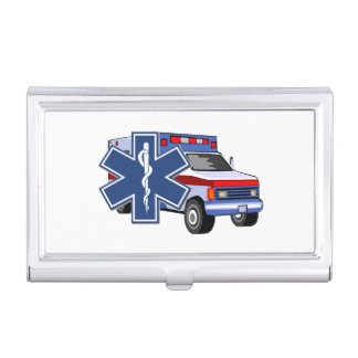 EMS Ambulance Business Card Holder