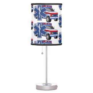 EMS Ambulance Table Lamp