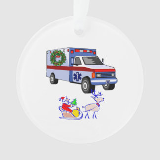 EMS Christmas Ornament
