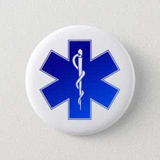 EMS Emergency Medical Service 2 Inch Round Button