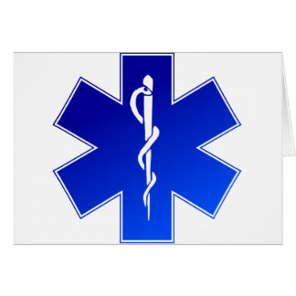 EMS Emergency Medical Service Card