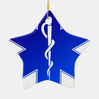EMS Emergency Medical Service Ceramic Ornament