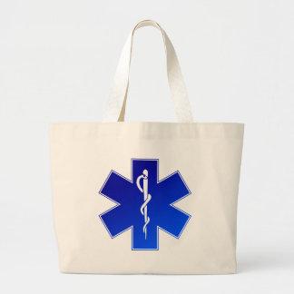 EMS Emergency Medical Service Large Tote Bag