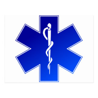 EMS Emergency Medical Service Postcard