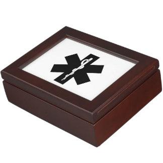 EMS EMT and Paramedic Gifts Keepsake Box