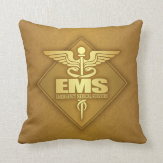EMS (gold)(diamond) Throw Pillow