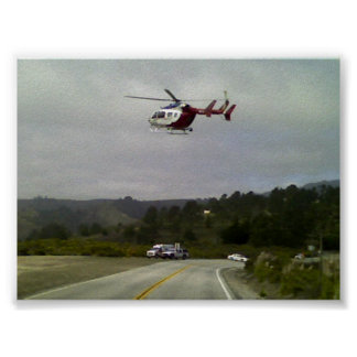 EMS Helicopter Poster