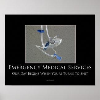 EMS Motivational Poster