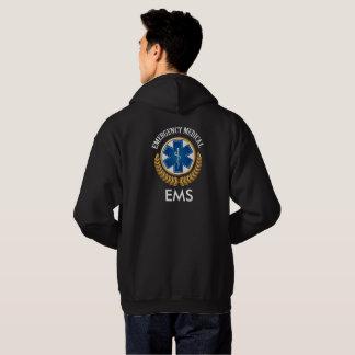 EMS or EMT Back -  See Both Sides Hoodie