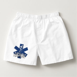 EMS Paramedic Active Star Of Life Boxers