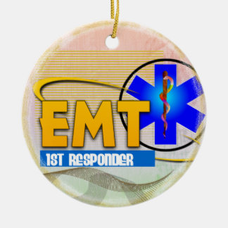 EMT 1ST RESPONDER CHRISTMAS ORNAMENT