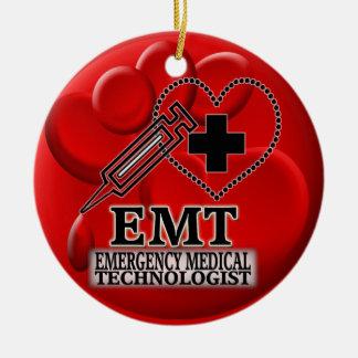 EMT BLOOD ORNAMENT - EMERGENCY MEDICAL TECH