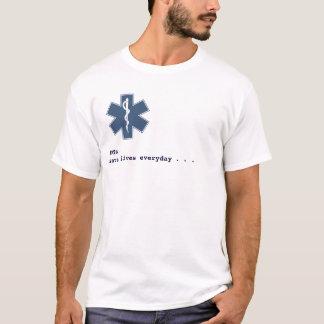 EMT diaysis white T-Shirt