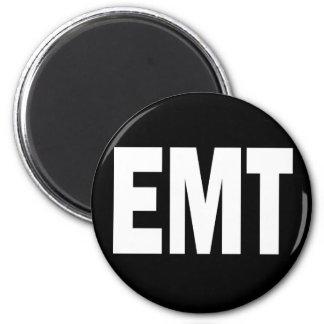 EMT - EMERGENCY MEDICAL TECHNICIAN 2 INCH ROUND MAGNET