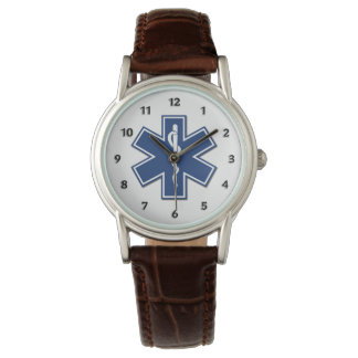 EMT EMS Star of Life Watches