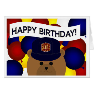 EMT - Happy Birthday EMT Hero! Card
