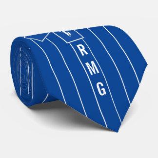 EMT Paramedic Symbol Custom Initials Tie
