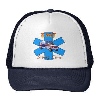EMT Saving Lives Hats