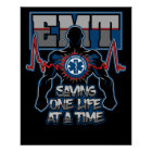 EMT Saving One Live at a Time Poster