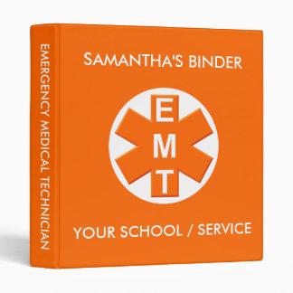 EMT School or Service Binder 2