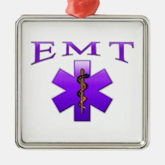 EMT Silver-Colored SQUARE ORNAMENT