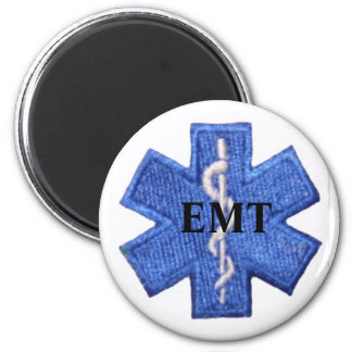 EMT Star of Life Magnet