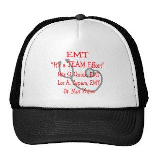 """EMT """"Team Effort""""  Hilarious Mesh Hat"""
