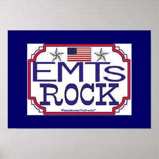 EMTs Rock Poster