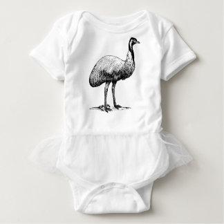 Emu Bird Baby Bodysuit