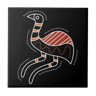 Emu Dotted Design Ceramic Tiles