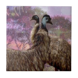 Emu Dreaming Tiles