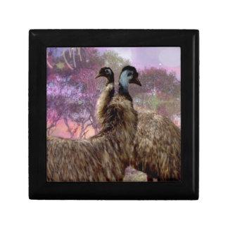 Emu Dreaming Trinket Box