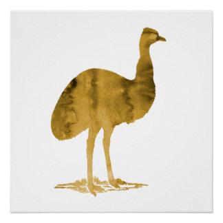 Emu Perfect Poster