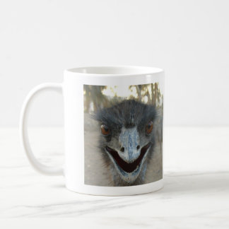Emu's head mug