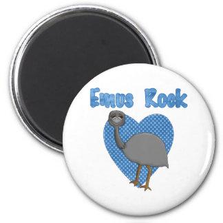 Emus Rock Magnet