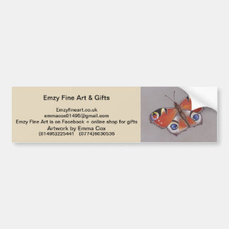 Emzy Fine Art Bumper Sticker
