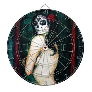 En el Dia de los Muertos Dart Board