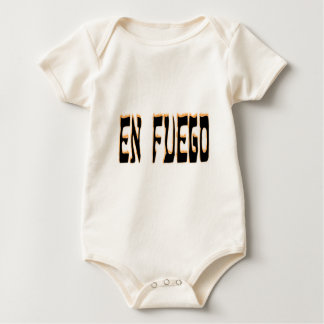 En Fuego (on fire) Baby Bodysuit