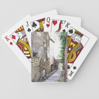 """En Grignan"" Playing Cards, Standard Index faces Poker Deck"