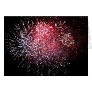En rose pour le nouvel an - cartes