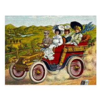 En Tour 1904 Postcard