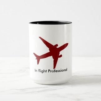En vol tasse de café professionnelle