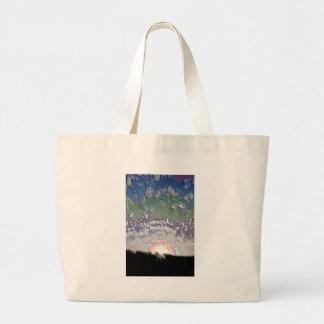Enamel Setting sun Bags